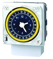 horloge analogique 24 heures Alpha D Orbis 270,023 Caractéristiques panneau d'installation (72 x 72 mm.), Et le rail DIN surface.  Sphère avant la programmation simple.  connexions Faston pour montage sur panneau. commutateur de connexion permanente,...