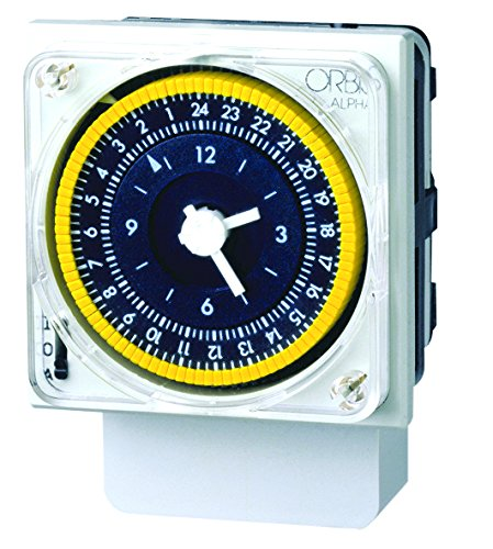 Orbis Alpha D 230 V Interruptor horario analógico