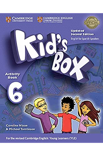 Kid's Box Level 6 Activity Book with CD ROM and My Home Booklet Updated English for Spanish Speakers Second Edition