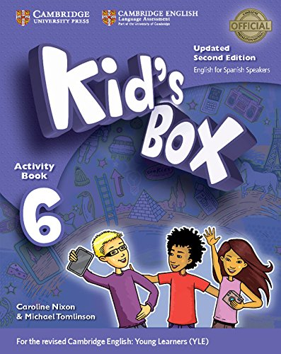Kid's Box Level 6 Activity Book with CD ROM and My Home Booklet Updated English for Spanish Speakers Second Edition - Pack de 3 libros - 9788490365199 por Caroline Nixon