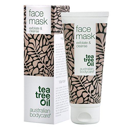 Australian Bodycare Face Mask (100 ml) - Gesichtsmaske mit Teebaumöl von Pharmaqualität gegen...