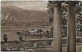 Primi 1900 Isola S. Giulio Lago d'Orta, vista dell'Isola di San Giulio - FP B/N Cartolina Postale