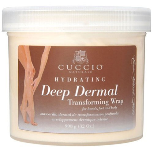 Cuccio Deep Derma Transforming Wrap Mask, 32 Ounce by Cuccio [Beauty] (English Manual)