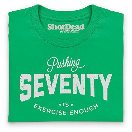 Pushing Seventy T-Shirt, Damen Keltisch-Grn