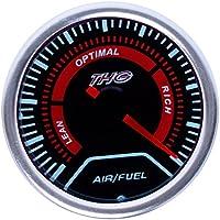 Jambo ™ universale 5,1cm 52mm Air/Fuel ratio gauge auto LED
