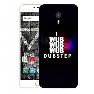 Snoogg I Wub Dubstep Designer Protective Back Case Cover For YU YUNICORN