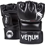 Venum Impact MMA Gloves, Black, Medium