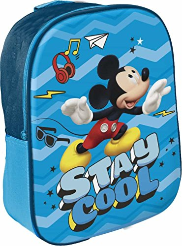 Star Licensing 48551 Disney Michy Zainetto per Bambini, 29 cm, Multicolore