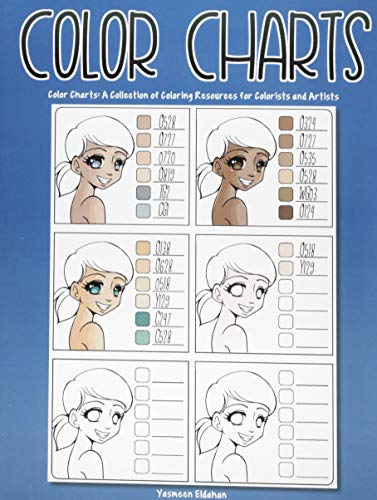 Colorist Collection (Color Charts: A collection of coloring resources for colorists and artists)