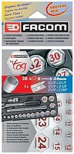 Facom - TAGPB_33926 - Pastilles pour douilles TAGPB - La qualité Facom !