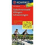 Südschwarzwald - Villingen - Schwenningen: Fahrradkarte. GPS-genau. 1:70000 (KOMPASS-Fahrradkarten Deutschland, Band 3111)