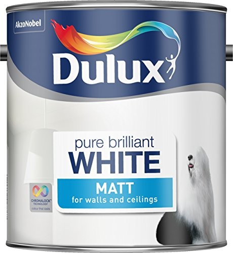 Dulux Matt Paint, 2.5 L - Pure Brilliant White