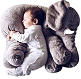 Blivener Baby Kids Soft Cute Stuffed Plush Infant Elephant Pillow Animal Sleep Toy 24IN
