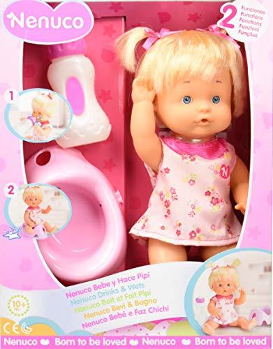 Famosa- Nenuco Bebe y Hace Pipí, Color rosa, única (700014961)