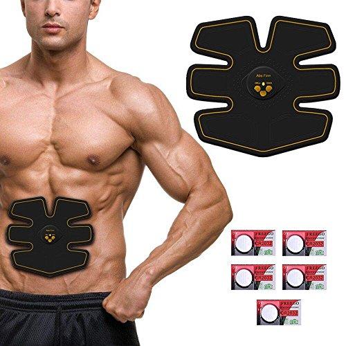 Ikeepi cintura elettrostimolatore muscolare addominale cintura training gear EMS per uomo e...