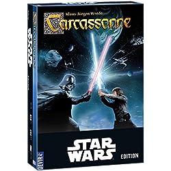 Star Wars - Carcassonne, Juego de Mesa (Devir BGCARCASW)