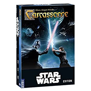 Devir – Carcassonne, versión Star Wars – juego de mesa (Devir BGCARCASW)