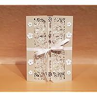 XL Karte DIN A5 Hochzeit Handarbeit, individueller Text möglich