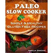 Paleo Slow Cooker (Large Print Edition): Simple and Healthy Gluten Free Recipes