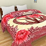 Axcellence Multi Color Premium & Ultra Soft Double Ply Single Bed reversible Mink Blanket - 4 Kg