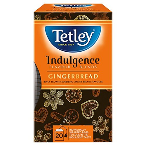A photograph of Tetley indulgence