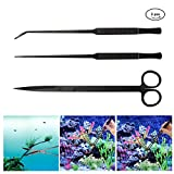 NANANA Edelstahl Aquarium Set Fisch Tank Kit, Aquarium Terrarium Tank Kit...