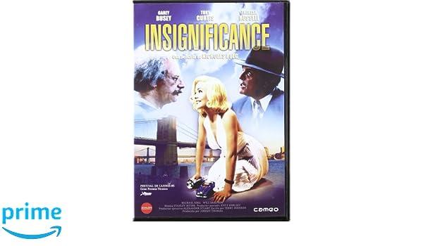 La signora in bianco   Insignificance 1985 Origine Spagnolo f7326473d29