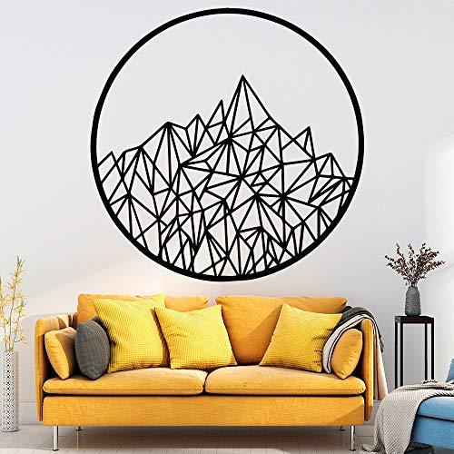 wukongsun Personalisierte Ball wandmalerei entfernbare wandtattoo, verwendet für Haus Dekoration Kinder Wohnzimmer Schlafzimmer DIY Dekoration schwarz l 43 cm x 43 cm