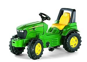 Rolly Toys 700028 Traktor Farmtrac Premium John Deere 7930, mit Kettenantrieb, Flüsterlaufreifen, Überrollbügel (für Kinder von 3 – 8 Jahren, TÜV/GS geprüft, Farbe Grün)