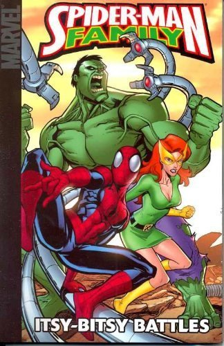 Spider-Man Family: Itsy-Bitsy Battles (Marvel Adventures Spider-Man) by Todd Dezago (2008-10-08)