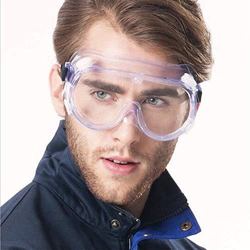 YUELANG Schutzbrille Arbeit Anti-Fog Antisand Winddicht Anti-Staub Transparente Schutzbrille Augenschutz Sicherheitsartikel Neu