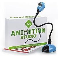 Studio d'animation HUE (Bleu) : kit d'animation Stop Motion Complet - caméra Incluse - Fonctionne sous Windows et macOS