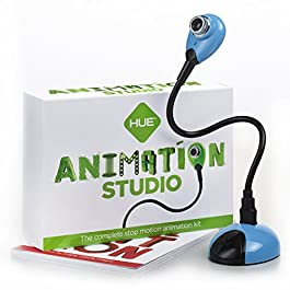 HUE Animation Studio for Windows PCs and Apple Mac OS X: complete stop motion animation kit
