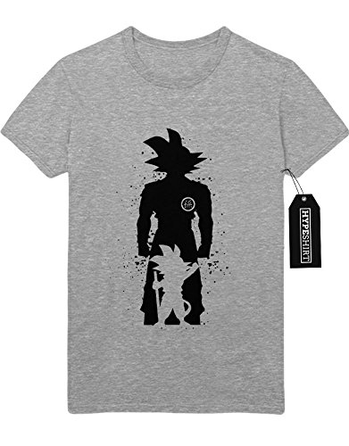 T-Shirt Son Goku Dragon Ball Z Growing Fast GT Super Trunks Gohan C980004 Grau M