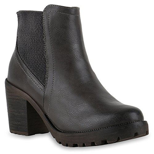 Stivali Paradise Ladies Stivaletti Chelsea Boots Flandell Grey Brito