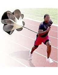 Switty, paracadute di resistenza per allenamento velocità, paracadute da corsa per allenamento di resistenza