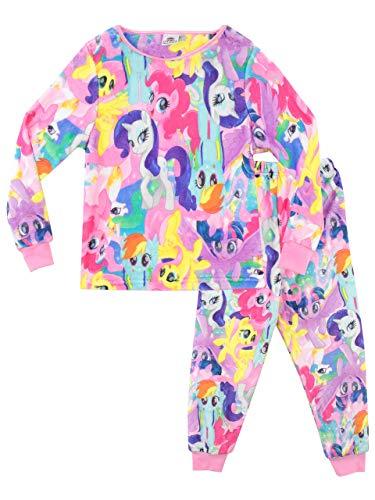 Mein Kleines Pony Mädchen My Little Pony Schlafanzug Rosa 110 (Pony Schlafanzug Little My)