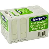 Salvequick Pflasterspender und refill - verschiedene Sorten (Karton á 6 refills, grün (non woven-Vlies) - Ref.... preisvergleich bei billige-tabletten.eu