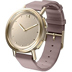 Misfit Path Goldton mit Sportarmband Lavendel Polyurethan Unisex Smartwatch MIS5023