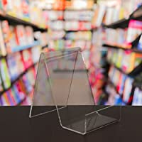 EPOSGEAR Medium Plastic Acrylic Perspex Book Plate Retail Display Stand Holder - Perfect for Schools, Nurseries, Libraries etc