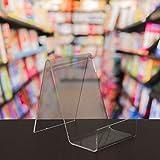 5 x Mittlerer freier Acrylbuch-Platten-Einzelverkaufs-Ausstellungsstand