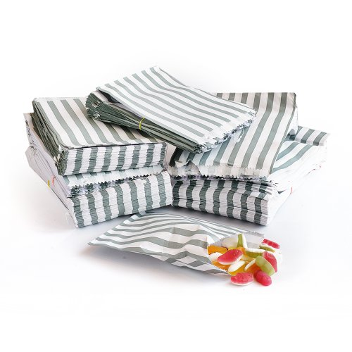 candy-striped-paper-party-sweet-loot-bags-7x9-inches-x-100-gray-silver
