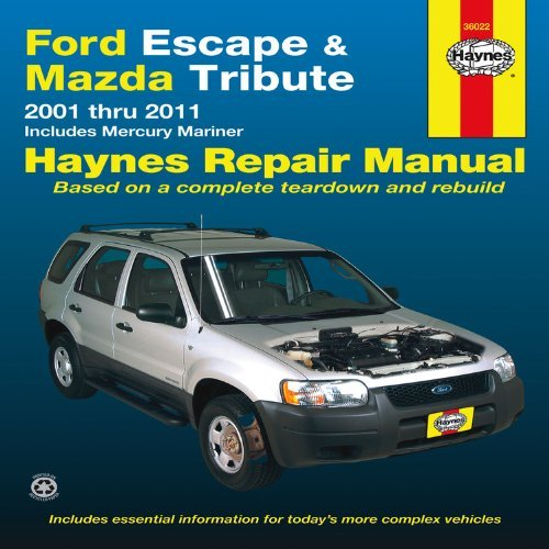 ford-escape-mazda-tribute-2001-2011-2001-thru-2011-includes-mercury-mariner-haynes-repair-manual-by-
