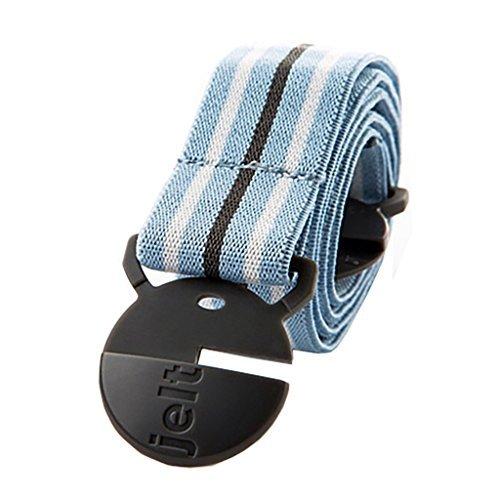 Jelt Belt cooler blauer Stripe Stretch Gürtel