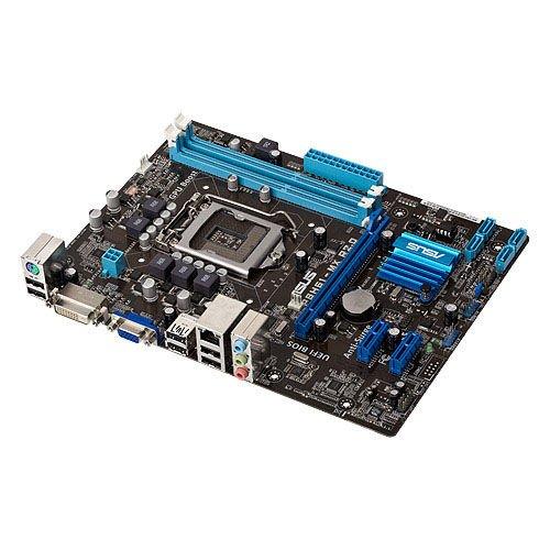 Asus P8H61-MX R2.0 Mainboard Sockel 1155 (micro-ATX, Intel H61, 2x DDR3 Speicher, 4x SATA II, 8x USB 2.0)