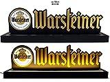 Warsteiner Reklame Leuchtreklame Display LED Beleuchtet mit Netzteil