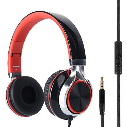 rockpapa-over-ear-kopfhrer-headphone-kraftvoller-stereo-sound-mit-mikrofon-verstellbar-faltbare-head