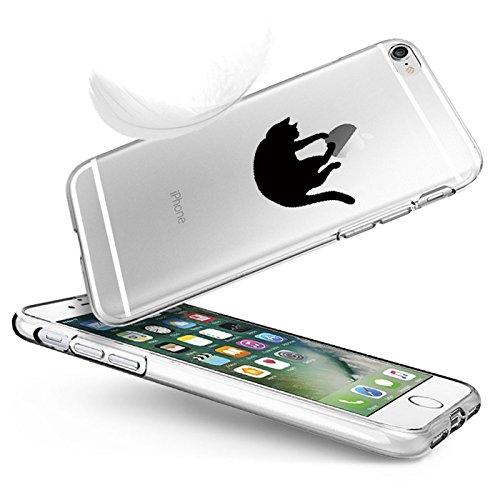 """Vanki® Coque iPhone 6 Plus/6S Plus, TPU Souple Etui de Protection Silicone Case Soft Gel Cover Anti Rayure Anti Choc pour Iphone6 Plus/6S Plus 5.5"""" 5"""
