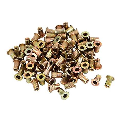 Rivet Nuts - TOOGOO(R) M3x9mm Countersunk Head Blind Rivet Nuts
