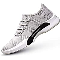 Inklenzo Men's Mesh Quality Black LT Running Sports Walking Casual Sneakers Shoes Size 6,7,8,9,10